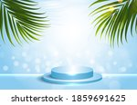cosmetic background for product ... | Shutterstock .eps vector #1859691625