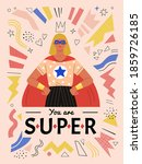 you are super. vector... | Shutterstock .eps vector #1859726185