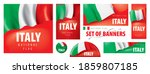 vector set of banners with the... | Shutterstock .eps vector #1859807185