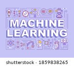 machine learning word concepts...