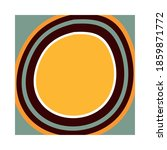 ethnic handmade ornament round... | Shutterstock .eps vector #1859871772