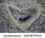 Heart Made Of Straw With A...