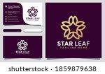 modern minimalist star leaf...   Shutterstock .eps vector #1859879638