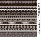 christmas seamless ornamental...   Shutterstock .eps vector #1859898355