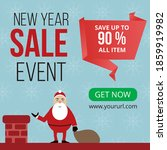 new year sale event banner... | Shutterstock .eps vector #1859919982
