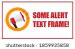 attention announcement... | Shutterstock . vector #1859935858