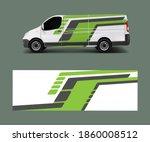 car decal van designs . wrap... | Shutterstock .eps vector #1860008512