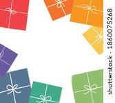 gift box icon  gift box...   Shutterstock .eps vector #1860075268