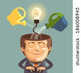 idea. vector format | Shutterstock .eps vector #186008945