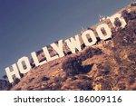 los angeles  ca   april 3  2014 ... | Shutterstock . vector #186009116