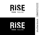Rise Logo  Rise Letter With...
