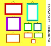 flat frame photo  used as photo ...   Shutterstock .eps vector #1860192088