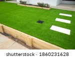 Artificial Grass Lawn Turf In...