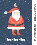 Christmas Holiday Card With...