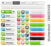 web design elements set. vector ...