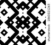 Seamless Monochromatic Pattern. ...