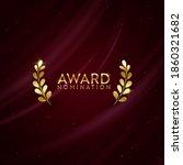 golden winner sparkle banner... | Shutterstock .eps vector #1860321682