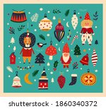 Holiday Decorative Banner With...