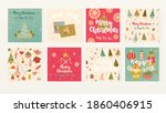 vector illustration. cards and...   Shutterstock .eps vector #1860406915