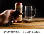 Drunk Driving Concept   Beer ...