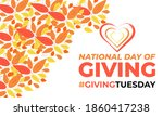 national day of giving  ... | Shutterstock .eps vector #1860417238