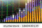 double exposer. digital numeric ... | Shutterstock . vector #1860430135