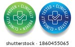 clinically tested  approved ...   Shutterstock .eps vector #1860455065
