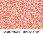 seamless animal print pattern.... | Shutterstock .eps vector #1860541735