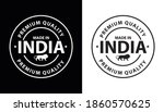 premium quality stamp  made in... | Shutterstock .eps vector #1860570625