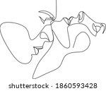 abstract man and woman touch ... | Shutterstock .eps vector #1860593428