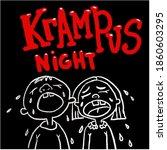 Krampus Night. Scary Krampus...