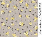 vintage floral background.... | Shutterstock .eps vector #1860652858