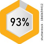93  hexagon percentage diagram  ...