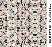 ikat geometric folklore...   Shutterstock .eps vector #1860666622
