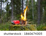 A Multi Fuel Tourist Stove With ...