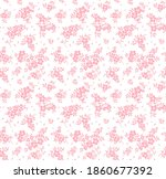 cute floral pattern in the... | Shutterstock .eps vector #1860677392