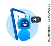 Robot Icon. Bot Sign Design....