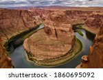 Entire View Of Horseshoe Bend
