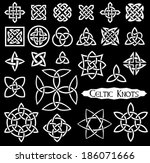 24 celtic knots  triquetra ...