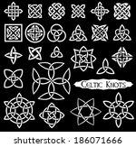 24 celtic knots  triquetra ...