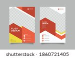collection of modern design... | Shutterstock .eps vector #1860721405