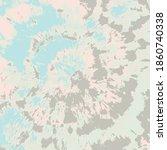 tie dye vector texture. pastel... | Shutterstock .eps vector #1860740338