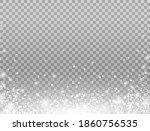 shining snow border. merry... | Shutterstock .eps vector #1860756535