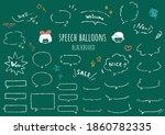 It Is A Set Of Speech Balloons...