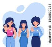 international day for the... | Shutterstock .eps vector #1860837235