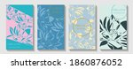 posters set with chinese new... | Shutterstock .eps vector #1860876052