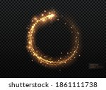 merry christmas and happy new...   Shutterstock .eps vector #1861111738