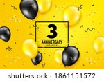 3 years anniversary....   Shutterstock .eps vector #1861151572