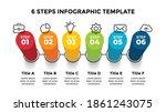 3d vector perspective... | Shutterstock .eps vector #1861243075