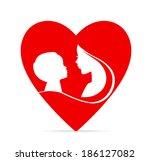 vector illustration  eps 10  of ... | Shutterstock .eps vector #186127082